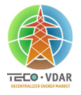 VDAR: Distributed Decentralized Autonomous Control Systems for Distributed Energy Markets